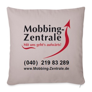 Anti-Mobbing-Kissen - Sofakissenbezug 44 x 44 cm