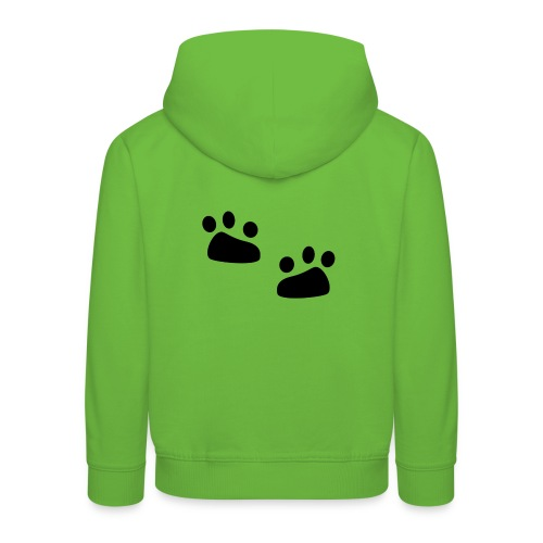 Tierspuren, Natur, Wildnis Pullover & Hoodies - Kinder Premium Hoodie
