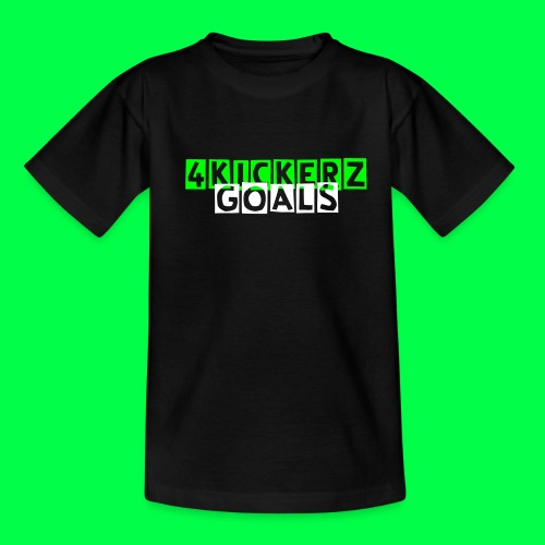 4KicKerzGoals t-shirt kinderen - Teenager T-shirt