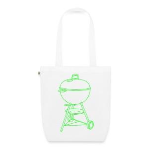 Grill (neon-grün) - Bio-Stoffbeutel