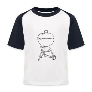 Grill - Kinder Baseball T-Shirt