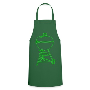 Grill (neon-grün) - Kochschürze