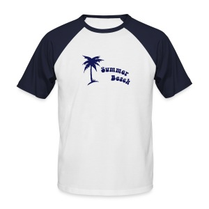 Summer Beach - Men's Baseball T-Shirt