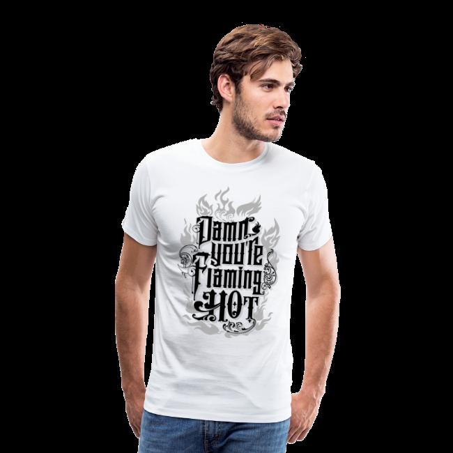 Flaming Hot (BlackNWhite) (unisex)
