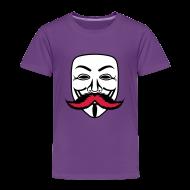 Tee shirts ~ T-shirt Premium Enfant ~ Anonymous Anonymoustache