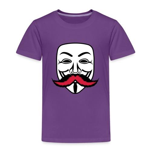 Anonymous Anonymoustache - T-shirt Premium Enfant