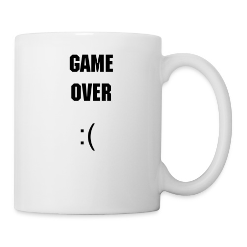 La Tasse GAME OVER - Mug blanc
