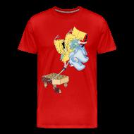 T-Shirts ~ Men's Premium T-Shirt ~ Go Samurai