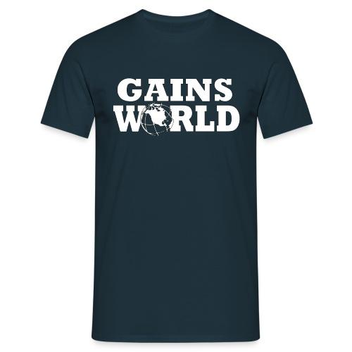 Gains World - T-skjorte for menn