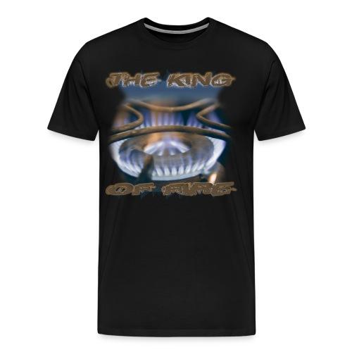 King Of Fire - BlueGold - Männer Premium T-Shirt