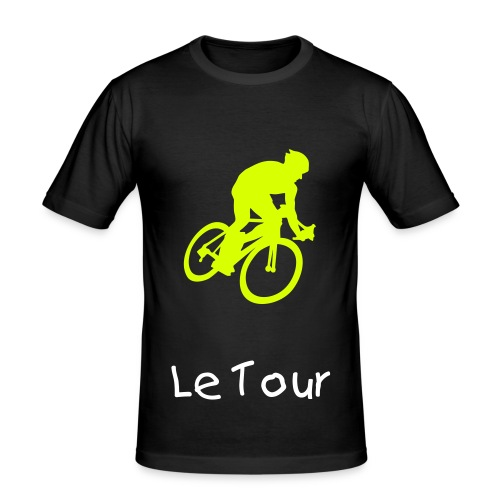 Le Tour sports t-shirt - Herre Slim Fit T-Shirt