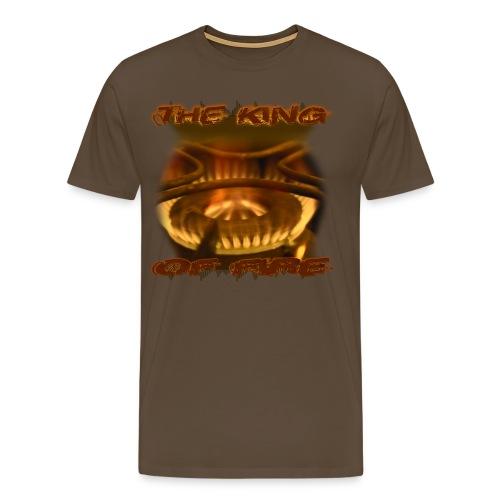 King of Fire - Gold - Männer Premium T-Shirt