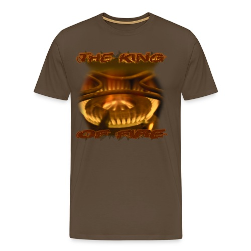 King of Fire - Gold - Männer Premium T-Shirt