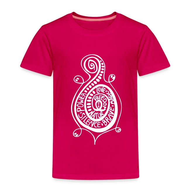 Kringel Schildkröte Kids T-Shirt