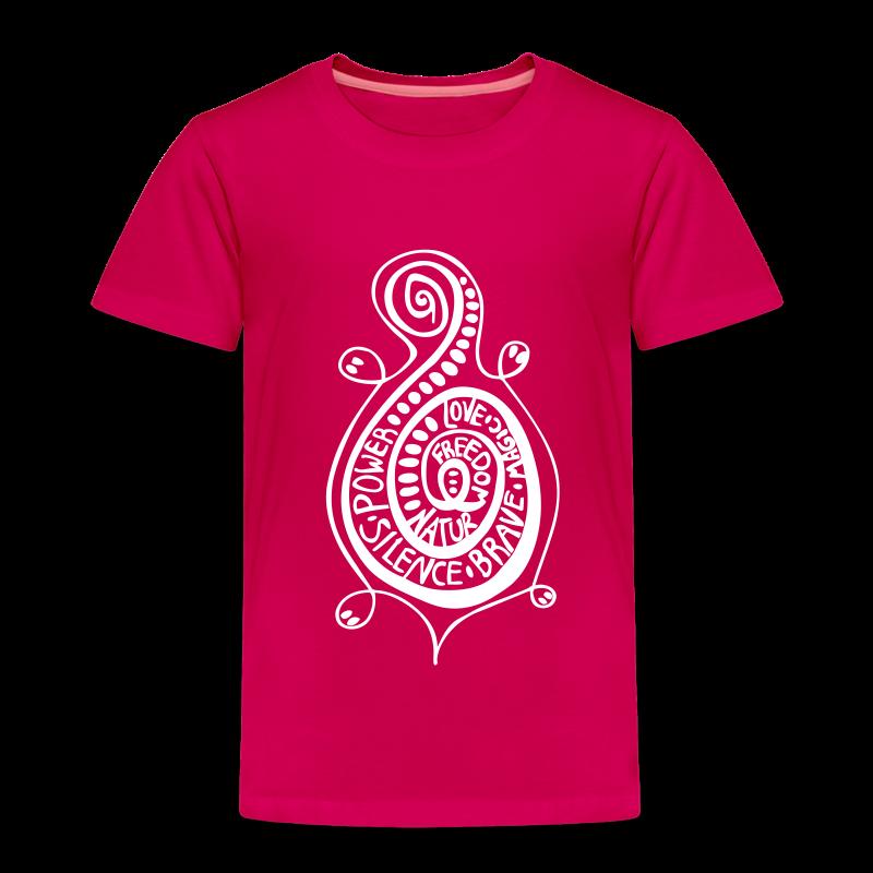 Kringel Schildkröte Kids T-Shirt - Kinder Premium T-Shirt