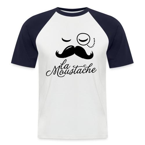 T-Shirt La Moustache - T-shirt baseball manches courtes Homme