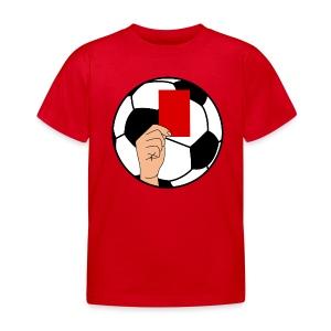 Football carton rouge - Kids' T-Shirt