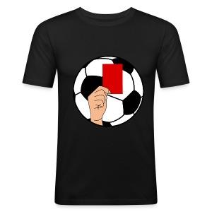 Football carton rouge - Men's Slim Fit T-Shirt