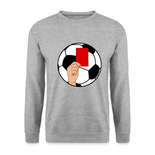 Football carton rouge - Men's Sweatshirt