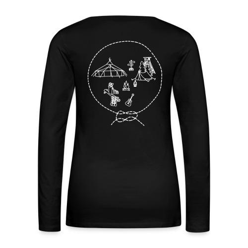 Langarmshirt - Frauen - Lager - S/W - Frauen Premium Langarmshirt