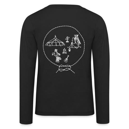 Langarmshirt - Kinder - Lager - S/W - Kinder Premium Langarmshirt