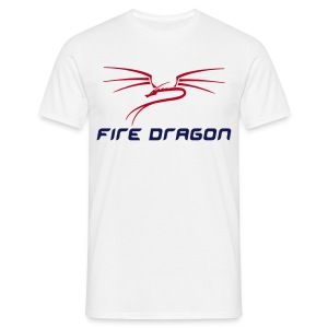 Fire Dragon Tee - Men's T-Shirt