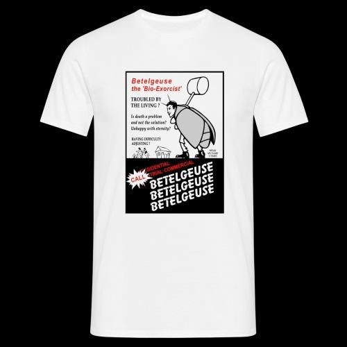 Beatlejuice Flyer - Men's T-Shirt