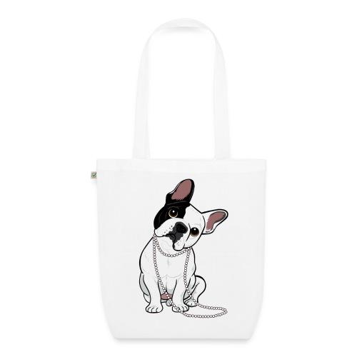 Sac en tissu biologique - sucette,sac,français,dog,bouledogue,bag