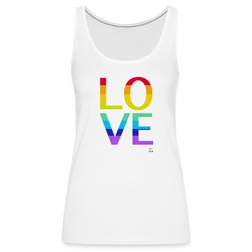 Love Rainbow Femme - Débardeur Premium Femme