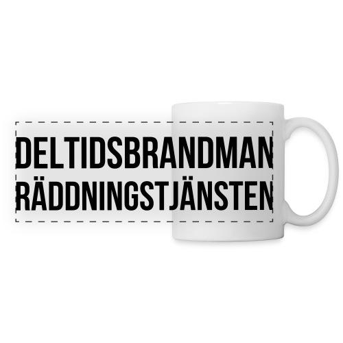 Mugg - Deltidsbrandman - Panoramamugg
