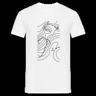 T-Shirts ~ Men's T-Shirt ~ Synoptic Pressure Chart (Men)