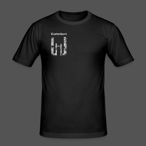Winterhart - Logo - Männer Slim Fit T-Shirt