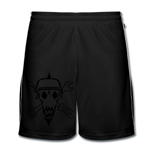Schwazze Buxe - Männer Fußball-Shorts