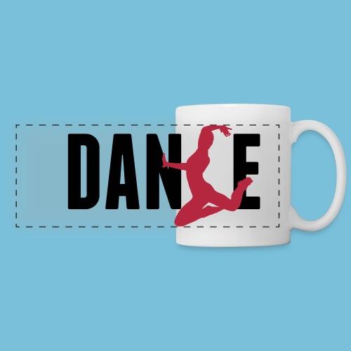 Tasse - DANSE - Mug panoramique contrasté et blanc