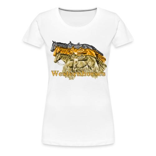 Motiv-193-Schwarz-Braun - Frauen Premium T-Shirt