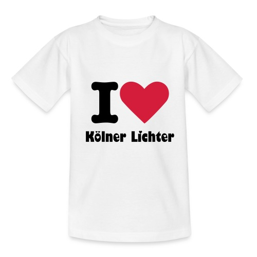 Love Kölner Lichter Kids - Kinder T-Shirt