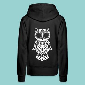 Sugar owl - Frauen Premium Hoodie