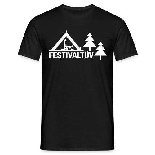 Festival Tüv - Men white - Männer T-Shirt