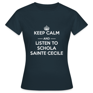 T-shirt femme Keep calm and listen to SSC - T-shirt Femme