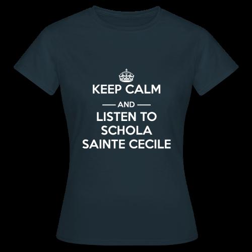 T-shirt femme Keep calm and listen to SSC - T-shirt Femme