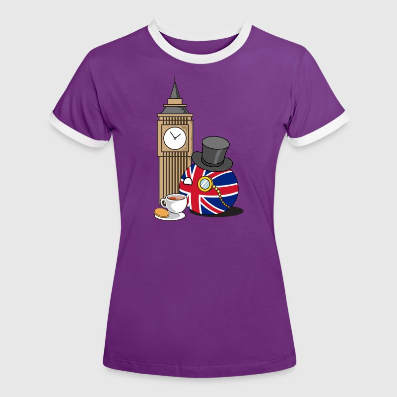 GreatBritainBall T-Shirts - Women's Ringer T-Shirt