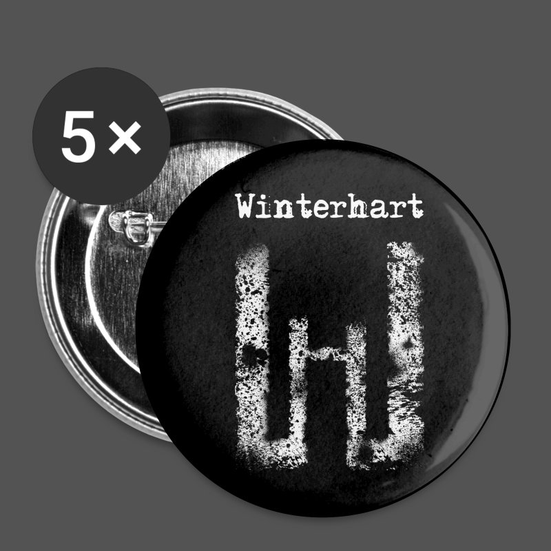 WinterhartLogo2 - Buttons klein 25 mm