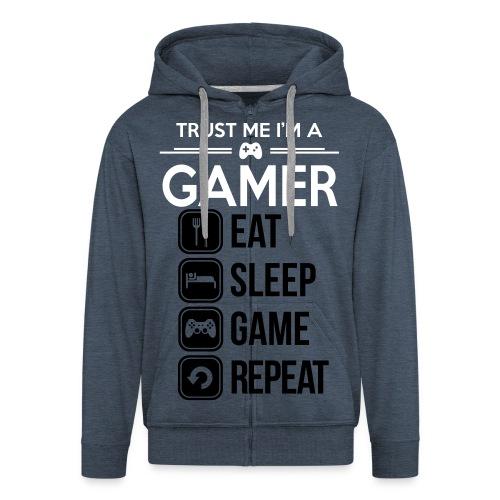 gamer trøje  - Herre premium hættejakke