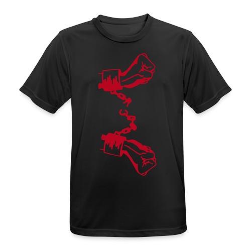 Geboren um Frei zu Sein ! - Männer T-Shirt atmungsaktiv