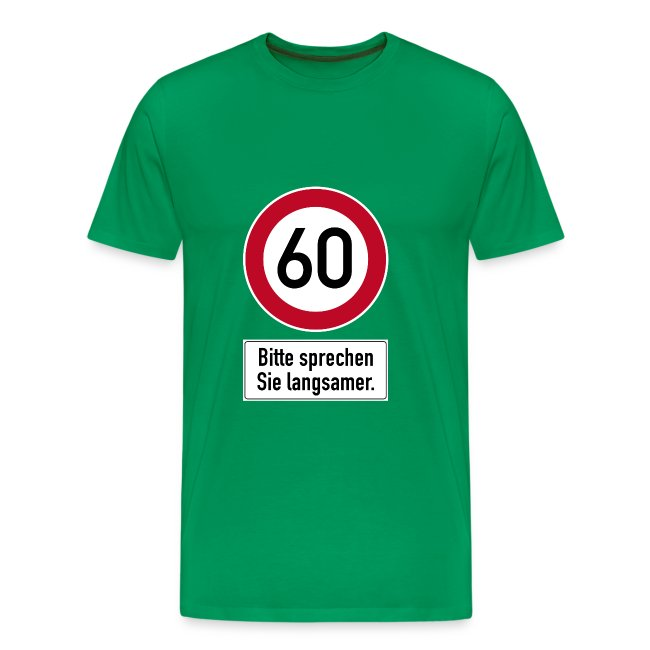 Manner T Shirt 60 Geburtstag Happy Birthday