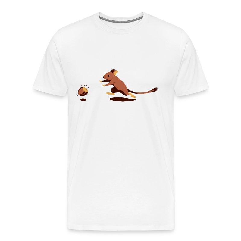 Fang die Nuss!  - Männer Premium T-Shirt
