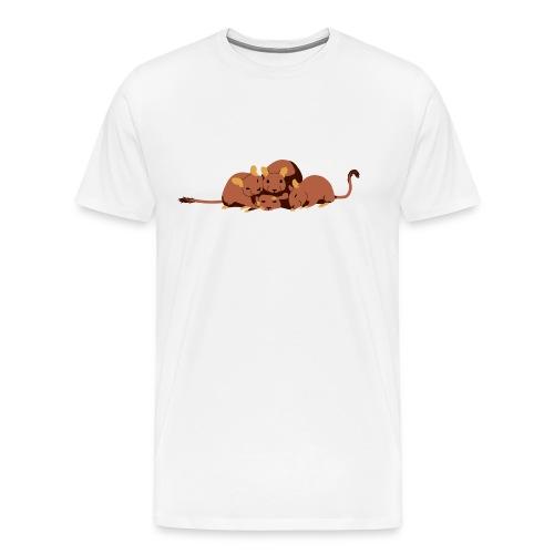 Kuschelhaufen - Männer Premium T-Shirt