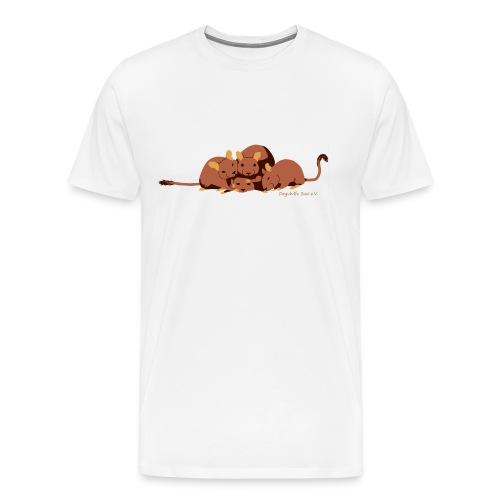 Kuschelhaufen DHS - Männer Premium T-Shirt