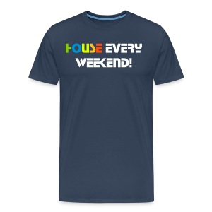 Mens House Weekend - Men's Premium T-Shirt