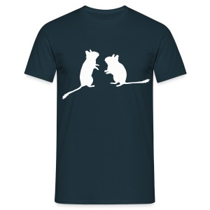 Degu-Duo - Männer T-Shirt